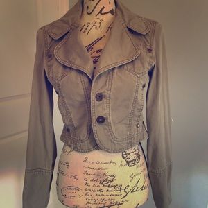 Vintage DKNY cropped jacket size small and AWESOME